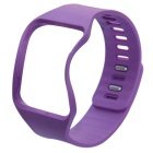 Silicone Wristband Watchband for Samsung R750 Smart Watch - Purple