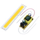 127 x 22mm 20W 1800lm 3200K Warm White 20-COB LED Module w/ Driver (30~36V)