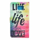 PU Full Body Case w/ Stand & Card Slots for Samsung Note5 - Multicolor