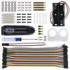 4WD Bluetooth Controle Smart Robot Car Kit para Arduino