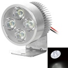 3W Universal 4-LED 280lm 7000K Lamp for Motorcycle / Electromobile (12~85V)