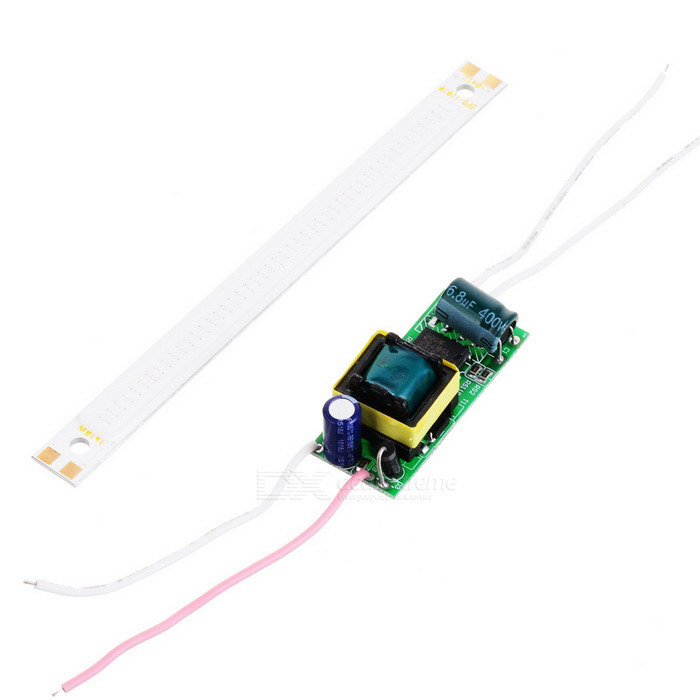 10W 300lm 48-COB LED Blue Light Module w/ Driver (AC 85~265V)Other Connector Bulbs<br>Form  ColorWhite + MulticolorColor BINBuleMaterialAluminum alloy + silicone + electronic componentsQuantity1 DX.PCM.Model.AttributeModel.UnitPower10WRated VoltageOthers,Driver: AC 85~265V; COB: DC 12~13 DX.PCM.Model.AttributeModel.UnitConnector TypeOthers,WiringEmitter TypeCOBTotal Emitters48Theoretical Lumens300 DX.PCM.Model.AttributeModel.UnitActual Lumens200~300 DX.PCM.Model.AttributeModel.UnitColor Temperature12000K,Others,N/ADimmableNoBeam Angle140 DX.PCM.Model.AttributeModel.UnitWavelength460nmOther FeaturesDriver size: 32 x 16.7 x 18mm, Output current: 600~680mAPacking List1 x Light module 1 x LED driver (6cm-cable)<br>