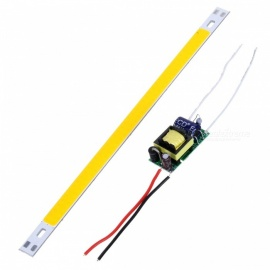 200*10mm 10W 88-COB Warm White LED Module w/ High Voltage Driver