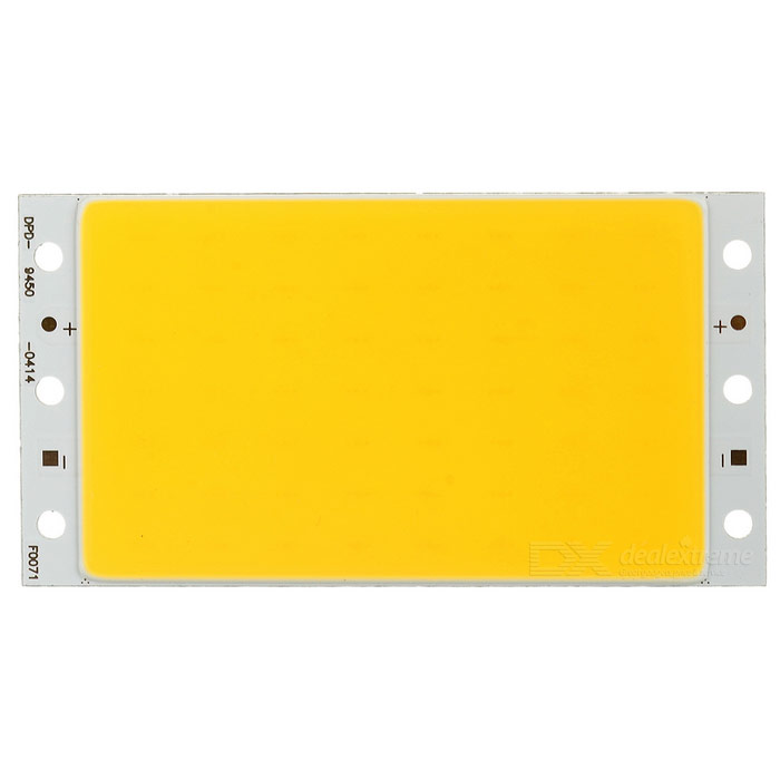 94*50mm 12W 3200K 1564lm Warm White 56-COB LED Module (DC 12~14V)