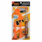 JAKEMY JM-8145 Screwdriver + Triangle Sheets + Prying Tool
