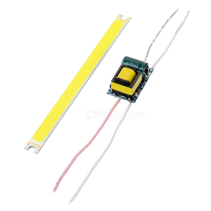 100 x 8mm 4W 230lm 16-COB Cold White LED Module w/ High Voltage Driver