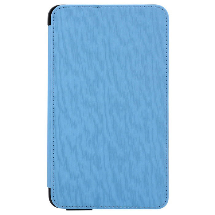 "Toothpick Grain Protective Case for 7"" Samsung Tab 4 T230 - Blue"
