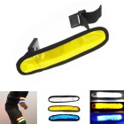 Safety LED Armband for Outdoor Walking & Running - White + Yellow + Blue (2 x CR2032)
