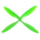 Replacement Nylon 1045 CW & CCW Propellers Set for Quadcopter / Multicopter - Green + Black