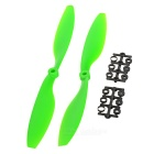 Replacement Nylon 1045 CW & CCW Propellers Set - Green + Black