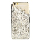 Ultra Slim Angel Style Protective Plastic Back Case for IPHONE 6 - Light Gold