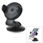 Universal Car Mount Holder w/ Suction Cup for IPHONE / Samsung + More - Black