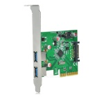 FG-EUSB312A PCI-E to USB 3.1 Extension Card PCI-E 3.1 USB Adapter Card Type-A