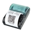 Rechargeable Bluetooth V3.0 Wireless Receipt Thermal Printer - Black