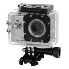 "SOOCOO Waterproof 1.5"" LCD 12MP Wide Angle Sports Camera w/ Micro HDMI, TF - Black + Silver"