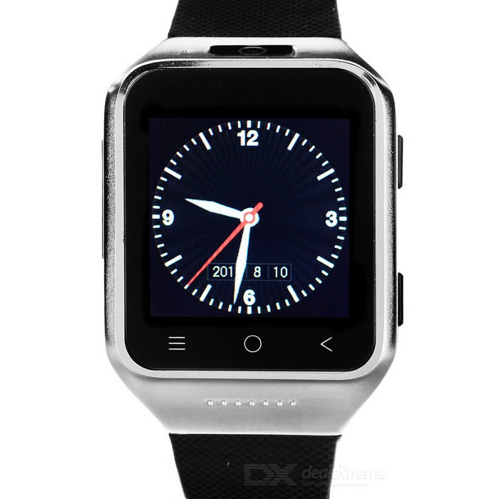 ZGPAX S8 Android 4.4 Watch Phone w/ 512MB RAM, 4GB ROM - Black+Silver