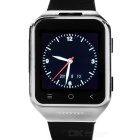 "ZGPAX S8 Android 4.4.2 Dual-core 3G Watch Phone w/ 1.54"", Wi-Fi, Bluetooth - Black + Silver (EU)"