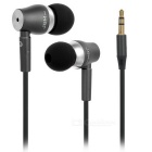 JBMMJ 3.5mm Plug In-Ear MP3 Earphone - Black + Deep Grey