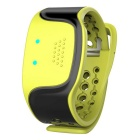 Bluetooth V4.0 Pulse Wave Based Bracelet w/ Sleep Monitoring / Sport Tracking / Heart Rate - Green