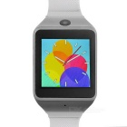 """ZF11 1.54"""" Bluetooth Smart Watch w/ Pedometer, Anti-lost Function, Time Alarm + More - Black + White"""