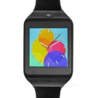 """ZF11 1.54"""" Bluetooth Smart Watch w/ Pedometer / Anti-lost Function / Time Alarm + More - Black"""