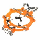 AoTu AT8601 Ice Climbing Shoes Chain Cleats Crampons - Orange (Pair)