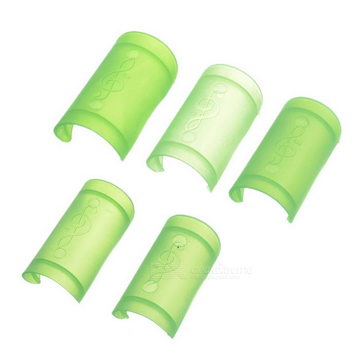 ABS Flute Membrane Covers Protectors Guards Set - Translucent Green