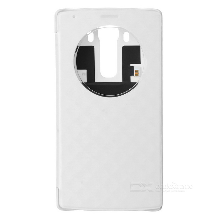 Qi Wireless Charging Receiving Case Support NFC for LG G4 - White
