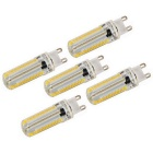 G9 7W Dimmable LED Corn Bulbs Warm White Light 840lm 3000K 152-SMD 3014 (AC 110V / 5 PCS)