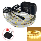 JIAWEN 18W LED Strip Lamp Warm White Light 1400lm 150-SMD (250cm)