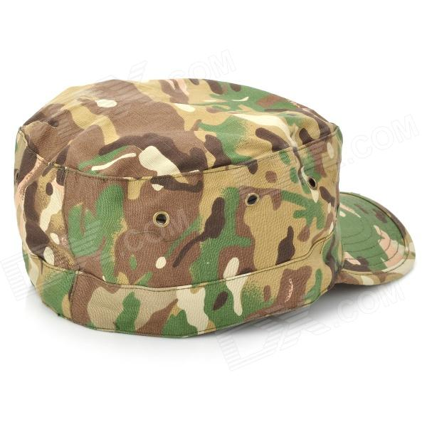 Octagon Shaped Military Cap - Color Assorted