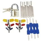 Practice Padlock + Lock Pick Set