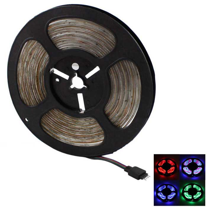 20W Vodotěsný RGB LED strip 270-SMD w / IR 24-Key Remote (5 m)
