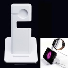 Aoluguya A11 Charging Dock Station Holder for APPLE WATCH / IPAD / IPHONE 5 / 5S / 6/ 6 PLUS - White