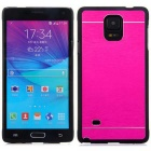 Kinston Aluminum Alloy Case for Samsung Galaxy Note 4 - Deep Pink