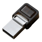 OTG Micro USB / USB 2.0 Flash Drive for Mobile Phone & PC Computer - Silver (32GB)