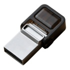 OTG Micro USB / USB 2.0 Flash Drive for Mobile Phone & PC Computer - Silver (8GB)