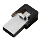 OTG Micro USB / USB 2.0 8GB Flash Drive for Mobile Phone & PC - Silver