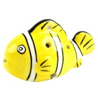 Little Fish Style 6-Hole C-key Ocarina Musical Instrument - Yellow