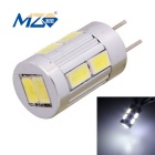 MZ G4 5W Car Decode LED Reading Lamp / Indoor Light White 6500K 10-5630 SMD 300lm - Silver (12V DC)