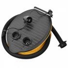 Folding Foot Operated Air Pump Inflator 3000CC Tool - Black + Yellow