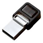 OTG micro USB / unidade flash USB - prata (16GB)