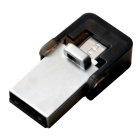 OTG micro USB / unidad flash USB - plata (16 GB)