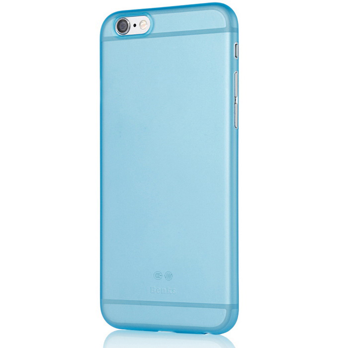 Benks lollipop 0.4mm PP caso de volta para IPHONE 6PLUS - céu azul