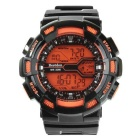 BESTDON BD5517G Men's Waterproof LED Digital Sports Watch w/ Calendar - Black + Orange (1 x 2025)