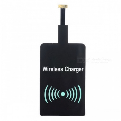 Reverse Universal Qi Wireless Charger / Receiver Module - Black