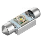 Festoon 36mm 3W Q5 LED 55lm 6182K White Light Decoding Lamp (DC 12V)