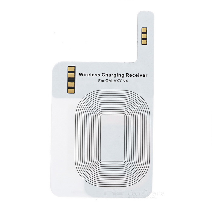 Wireless Charging Receiver for Galaxy Note 4 - White