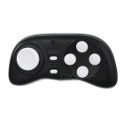 Bluetooth V3.0 Gamepad Selfie Remote Shutter w/ Wireless Mouse Function - Black + White