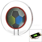 Multicolored Soccer Pattern Qi Wireless Charger / Receiver Module